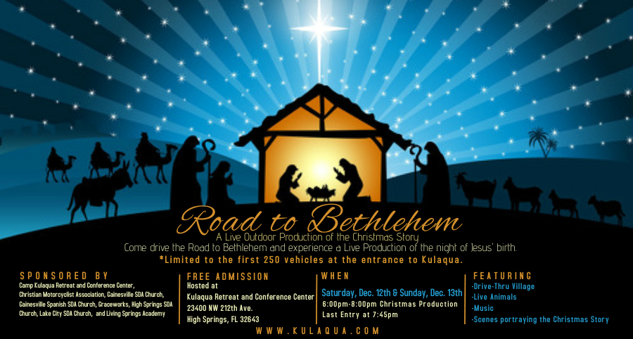 2020 Road to Bethlehem Kulaqua Retreat and Conference Center 2560x1370