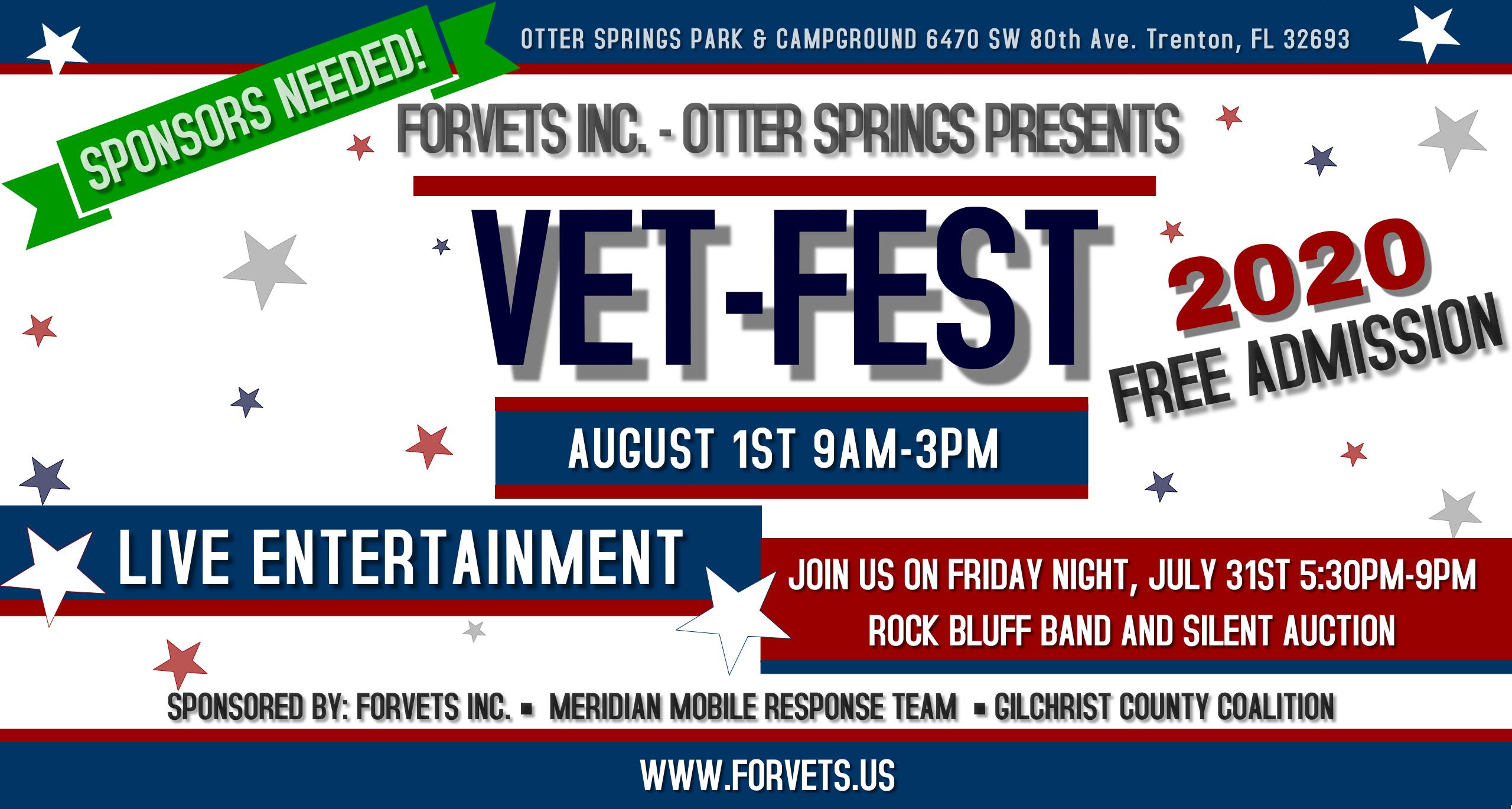 ForVets Inc 4th Annual 2020Vet-Fest 2560x1370