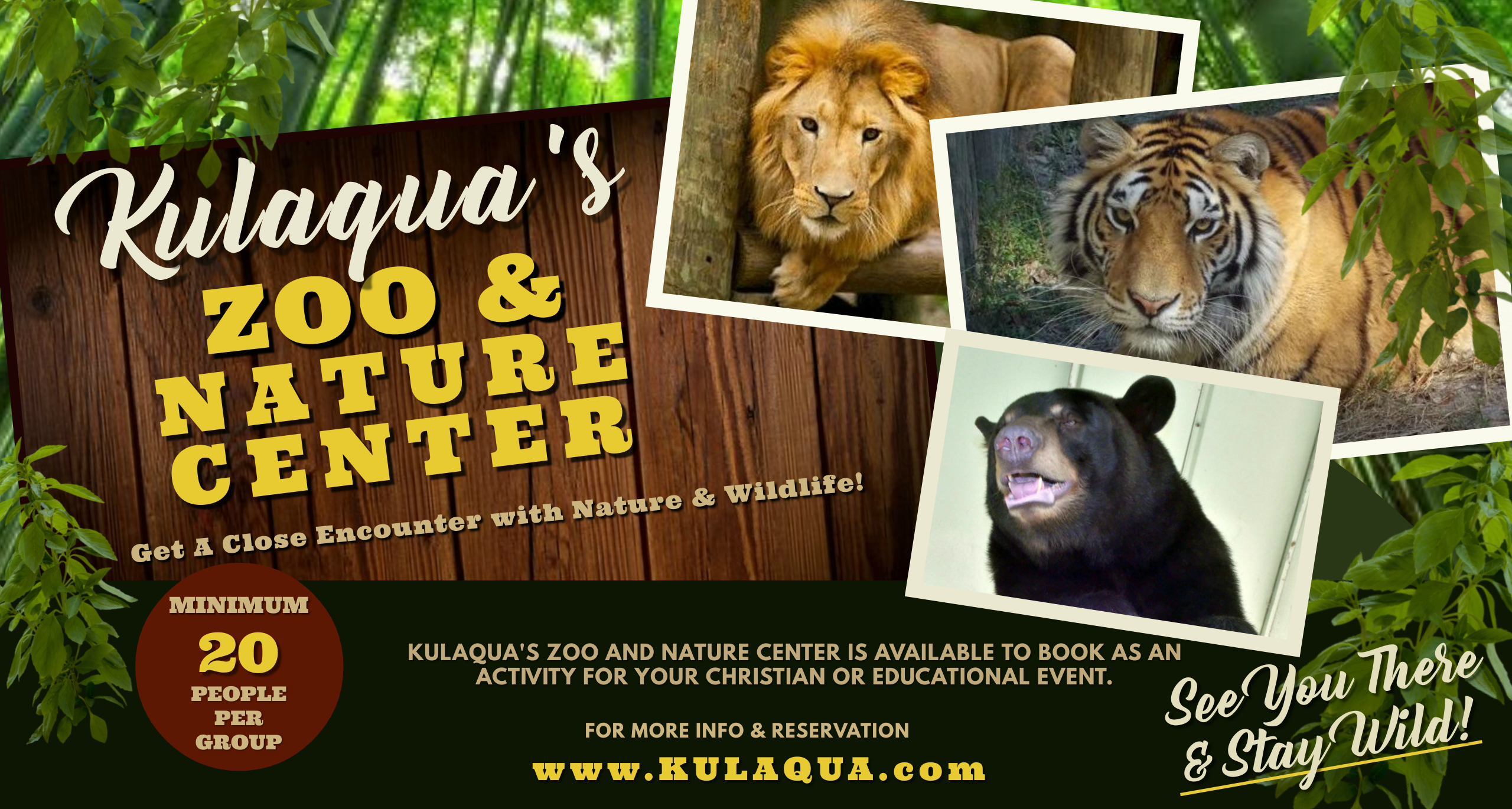 Kulaqua Zoo and Nature Center 2560x1370